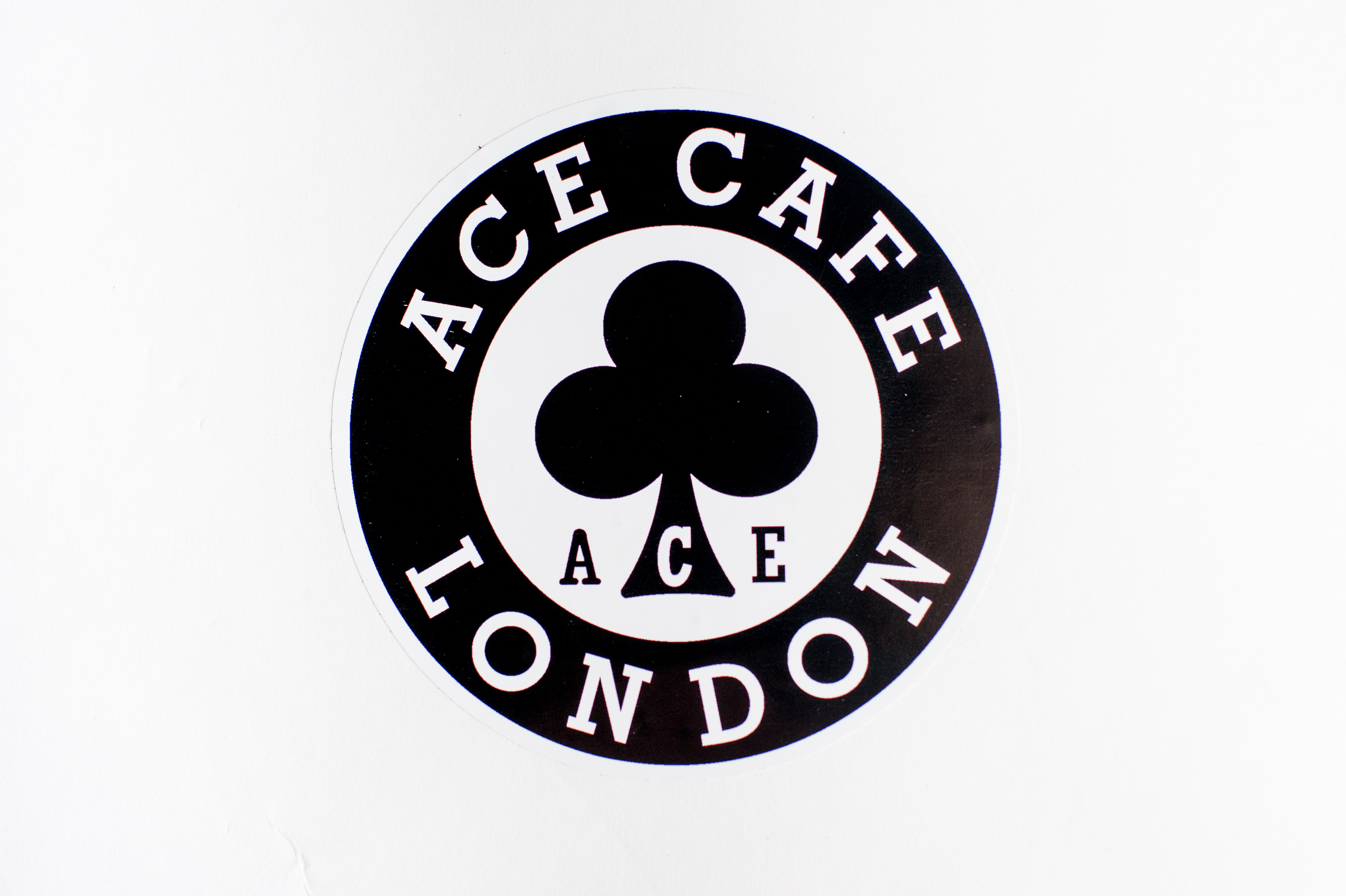 Ace Cafe London Inside Window Sticker