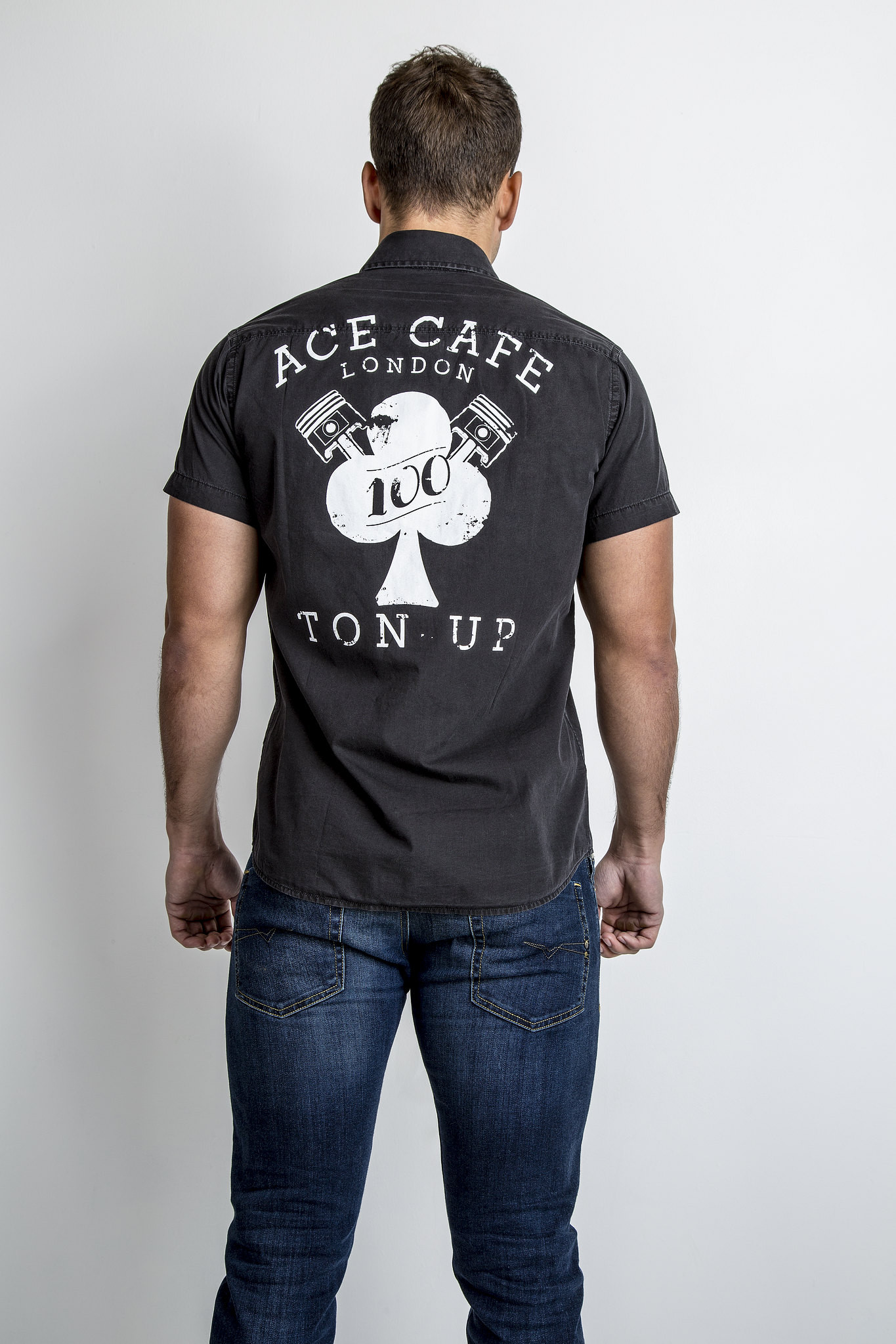 RT Ace Cafe Ton Up Button Up