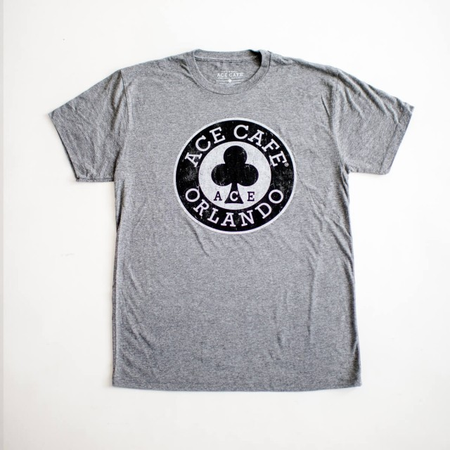 Ace Cafe Orlando Comfy Tee - Grey