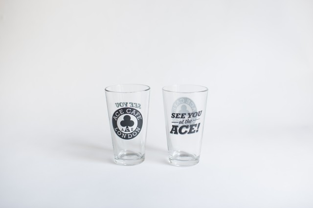 Ace Cafe London Pint Glass