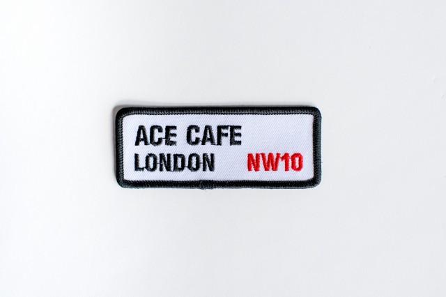 Ace Cafe London Street Sign Patch