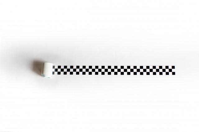 Chequered Sticker Roll 3'
