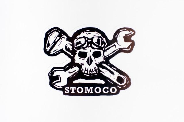 Rockers Skull and Crossbones Sticker