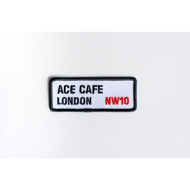 Ace Cafe London Street Sign Patch