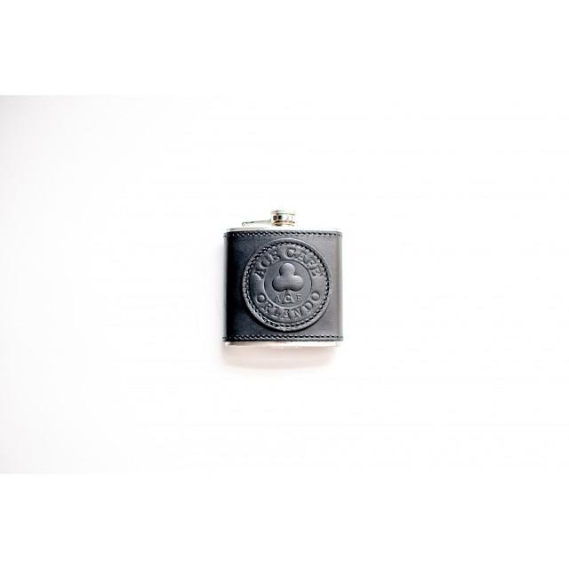Ace Cafe Orlando leather flask