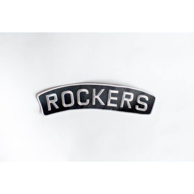 Rockers Numberplate Patch