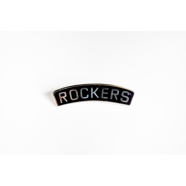Rockers Numberplate Pin