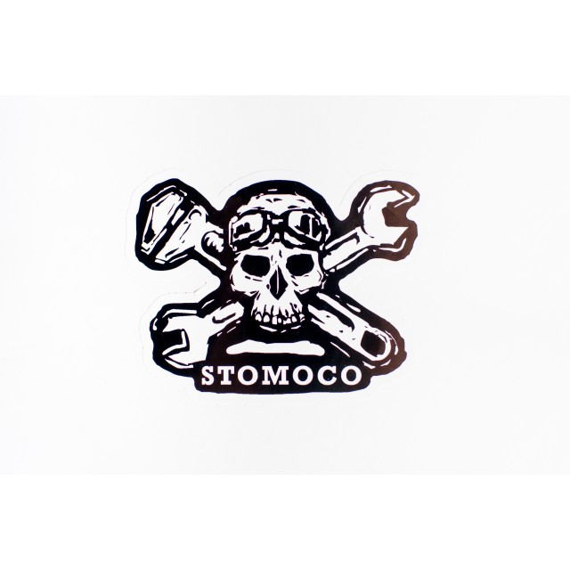 Rockers Skull and Crossbones Sticker