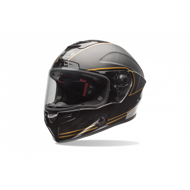 Bell Race Star Ace Cafe Speed Check Helmet w/Free ACE Orlando Tee